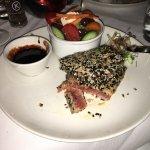 der erste Thunfisch war perfekt gegart, zart und die Qualität einfach nur köstlich