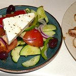 perfect greek salad