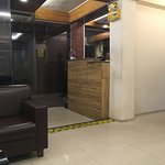 Reception area of Richmond Hotel & Suites, Dhaka, Bangladesh