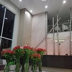 Lobby de ingreso al hotel