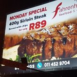Foto de Fahrenheit Seafood & Grill