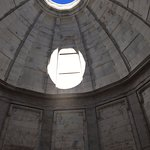 Interior of the Illinois State Memorial at Vicksburg Military Park.