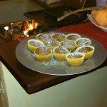 Colazione preparata dall'eccellente cuoco Giualuca durante la notte