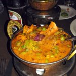 Indian food at the Impala Restaurant
