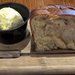 warm bread and soft butter