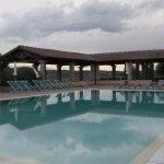 Very nice pool area.