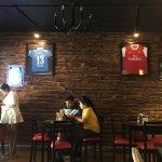 A sports theme cafe in Uzan Bazar, Guwahati