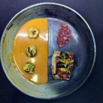 Duck Magret with orange sauce and andean potato