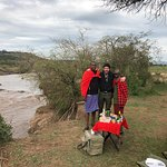 Bush Breakfast - Mara river