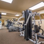 Tyrolean Lodge Fitness Center with Lifting Station, Treadmill, Bicycle and Elliptical