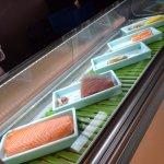 Fresh sushi on site