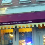 front of Chocolaterie Stam in Dubuque