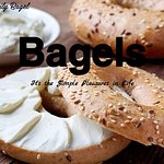 Bagels baked daily!