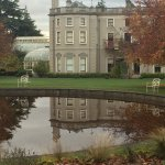 Farmleigh House and pond