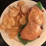 Annie O's Kitchen Hilton Head Fried Green Tomato Sandwich