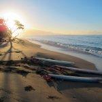 Sunrise surfing!