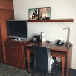 Two desks - removable and permanent