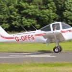 Landing at Welshpool Airport