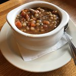 Beef and Barley Soup du Jour! (Our daily soup offering changes often)