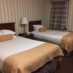 Room with double and twin bed-perfect for one parent and teenager