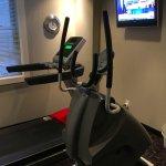 4th floor fitness room.