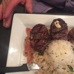 Beef medallions with risotto - delicious
