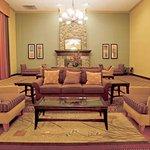 Hotel Lobby & Fireplace