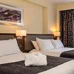 A little more comfort in this Executive Room with 2 double beds