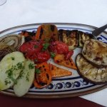 Delicious grilled vegetables