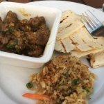 Sri Lankan Lamb Curry - superb, but again, lacking imagination...