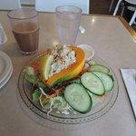 chicken papaya salad