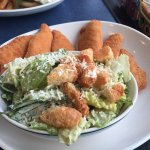Chicken fingers and Caesar Sala on the BC Ferries , 680 Trans Canada Hwy | Departure Bay, Nanaim