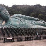 The huge buddha statue