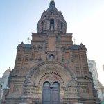 早晨的聖索菲亞教堂, 外貌古樸, 彷彿是經歷夜生活後的睡眠.