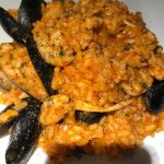 Seafood Risotto with plenty of seafood