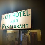 Skylten ser inte märkvärdig ut, men en mycket bra restaurang.