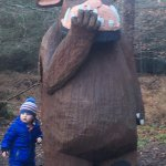 Big Gruffalo says hello
