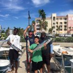 Tome and Ryan had a fantastic time fishing with Captain Blaze and Gino!