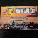 Photo de New Matahari Cafe