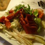 Demi homard