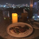 the steak was nice