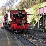 Welsh Highland train at Caernarfon.