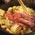 Delicious Hida Beef Sukiyaki