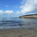 la plage de El Puertito
