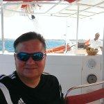 On board Ocean Diva