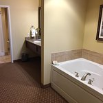 Premier Suite: Whirlpool + large Vanity + Shower/WC