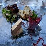 Foie gras de canard IGP Périgord au vin de pissenlit