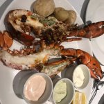 The fresh lobster is perfect