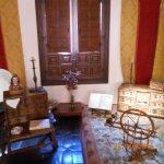 Um dos quartos da casa em que viveu Cervantes (Alcalá de Henares).
