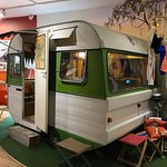 old caravan display...fun